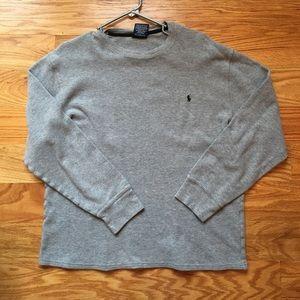 Men's XL polo Long John Shirt